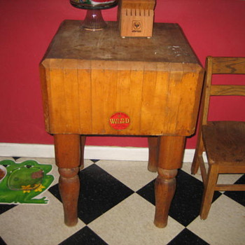 wartime era butcher block - Kitchen