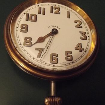 8 Day Travel clock or Automobile clock Swiss Made - Clocks