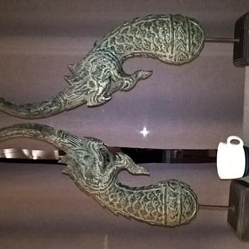 Malasian dragons, sculptures? - Asian