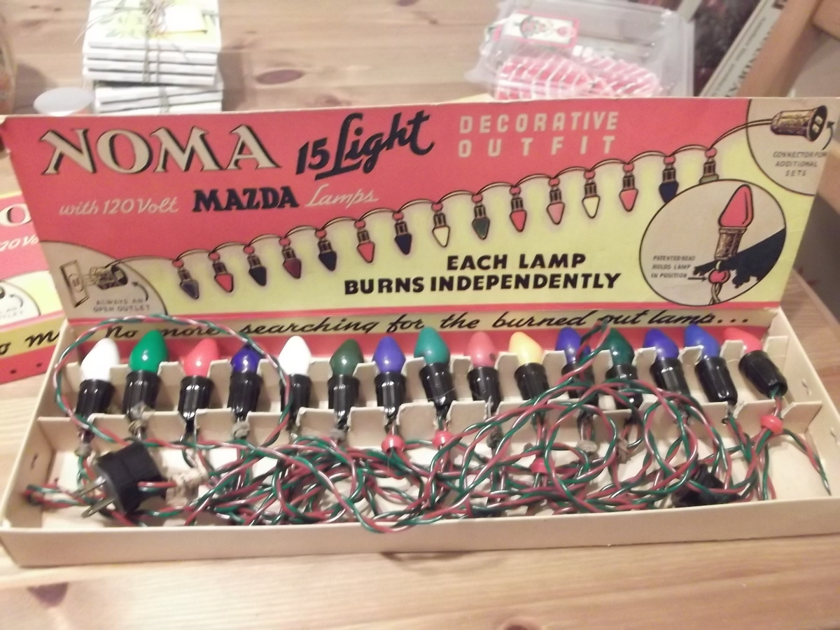 Vintage Noma Christmas Lights | Collectors Weekly