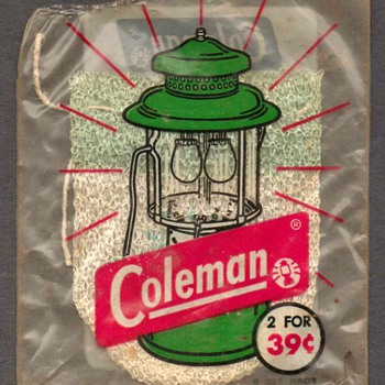 1950's - Coleman Lantern Mantle - Sporting Goods