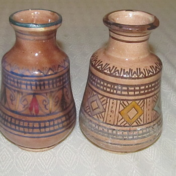 2 pottery vases Ennaovi Safi  - Pottery