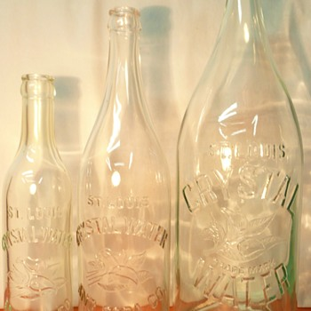 St. Louis Crystal Water & Soda Co. - Bottles