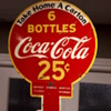 1938 Coca Cola rack sign