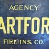 Hartford fire insurance Sign