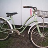 Early girls Bicycle.
