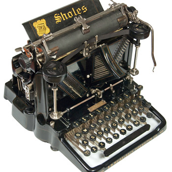 Sholes Visible - 1901 - Office