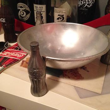 1930's Coca-Cola Pretzel Bowl - Coca-Cola