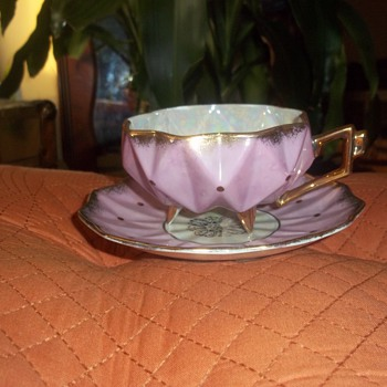 Great-Uncle's Royal Sealy Cup and Saucer - China and Dinnerware