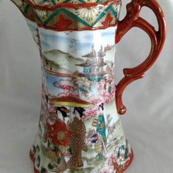 Please help identify unmarked geisha girl chocolate pot? - China and Dinnerware