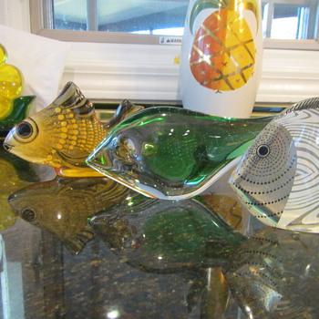 Fish Gotta Swim - Art Glass