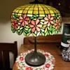 Unique Art and Metal Company floral lamp