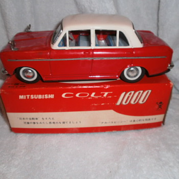 Mitsubishi Colt 1000 - Model Cars