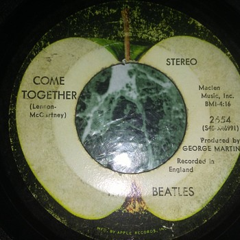 The Beatles...On 45 RPM Vinyl - Records