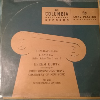 LP record first-year issue