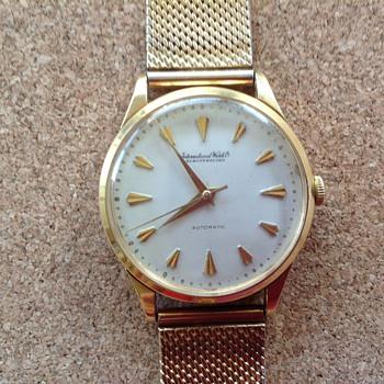My father's old International Watch Co. Swiss Automatic wrist watch