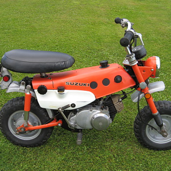 Another 1971 Suzuki MT50 Trail Hopper - Motorcycles