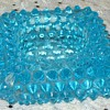 Turquoise Glass Tray