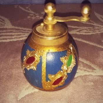 my cute little Italian pepper grinder. - Kitchen
