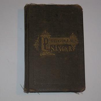 1878 Pilgrims Sanger - Books