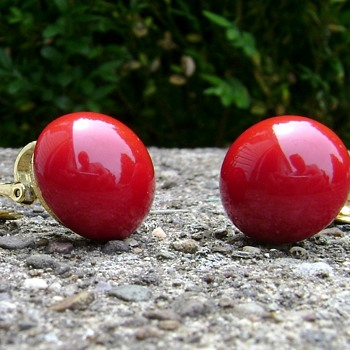 Trifari Earrings - Costume Jewelry