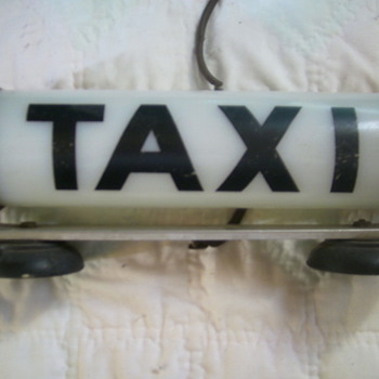 My Dad's Taxi Cab Light - Signs
