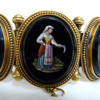Fine Micro Mosaics Bracelet  - Fine Jewelry