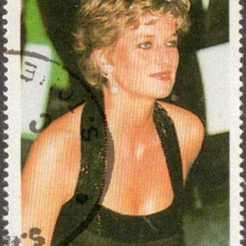 "1997 - St. Thomas & Prince Islds. ""Princess Diana"" Postage Stamps - Stamps"