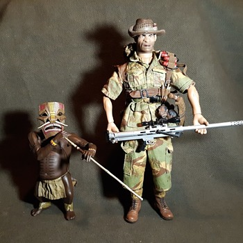 21st Century Toys Ultimate Soldier The Villains Series Auz and Taz Early 2000s - Toys