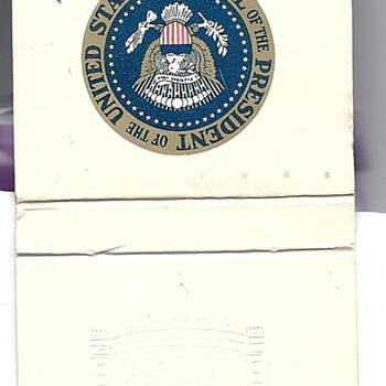President John F Kennedy Matchbook