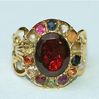 Georgian Planetary Ring - Fine Jewelry