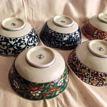 China bowls - Asian