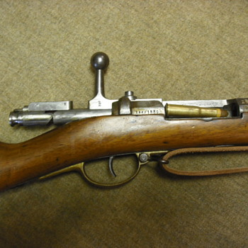 German Model 1871 Mauser Rifle - Military and Wartime