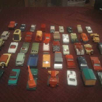 Matchbox cars...  We're still kids at heart.