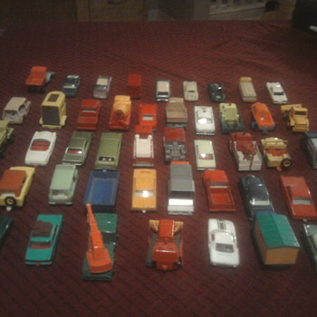 Matchbox cars...  We're still kids at heart. - Model Cars