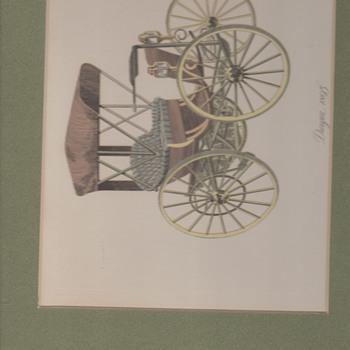 Antique automobile prints - Posters and Prints