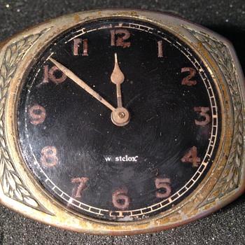 Westclox aftermarket car clock