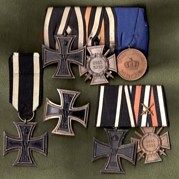 WWI Iron Cross first and second class