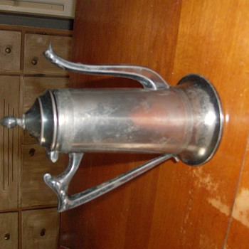 Sheffield Coffee Pot Made in USA - Kitchen
