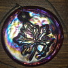 Carnival glass pendand/necklace?