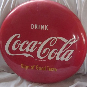 Coca-Cola Sign! - Coca-Cola