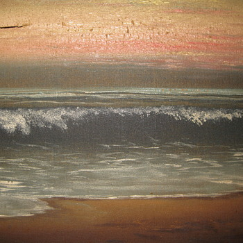 Oil painting from the St. Regis, Long Beach, CA - Fine Art