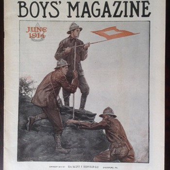 June 1914, The Boys' Magazine - Paper