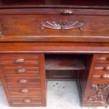 Vintage Secretary Desk