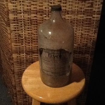Mineralized water bottle
