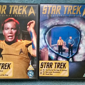 1966-1969, star trek  tv series-dvd box collectors set. - Movies