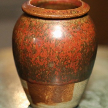 Strange little Urn with Great Glaze! - Pottery