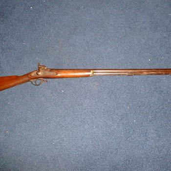 1864 Amoskeag Civil War Rifle - Military and Wartime