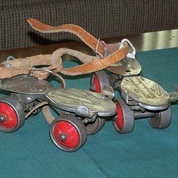 1960's Winchester Steel Roller Skates - Sporting Goods