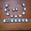 Interwar period Moonstone Jewellery Set